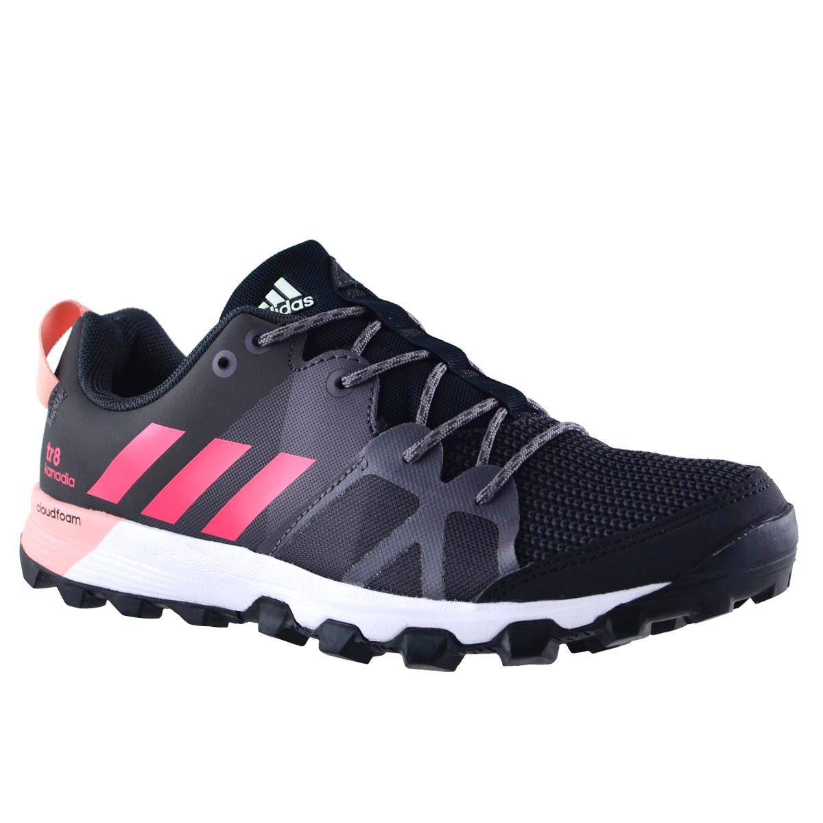 online store 6a232 dcb34 zapatillas adidas kanadia 8 tr mujer negro. Cargando zoom.