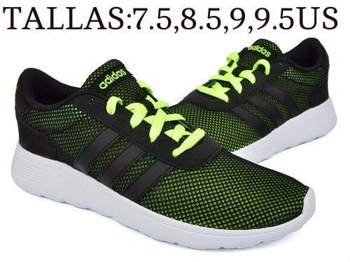 zapatillas adidas lite racer hombre - tallas8,8.5,9,9.5,10us
