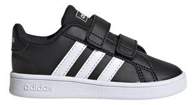 I Grand Adidas Court Bebe Zapatillas Ngbl Moda EH29WYDI