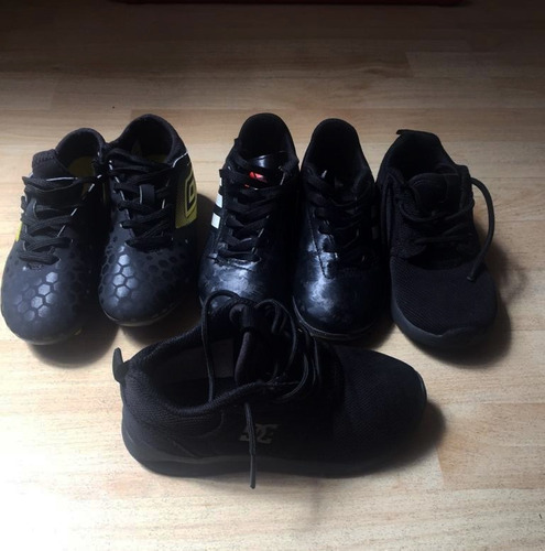 zapatillas adidas modelo conquisto niños talla 28.5