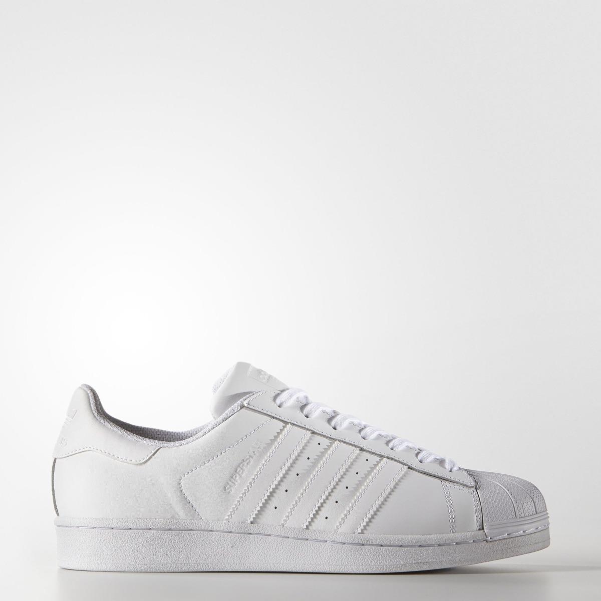 zapatillas adidas superstar blancas mujer