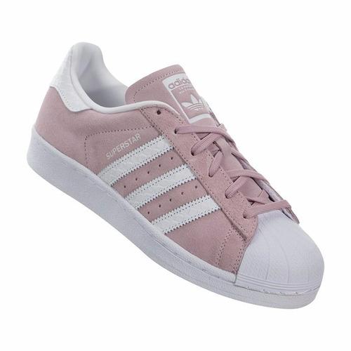 zapatillas adidas mujer superstar rosas