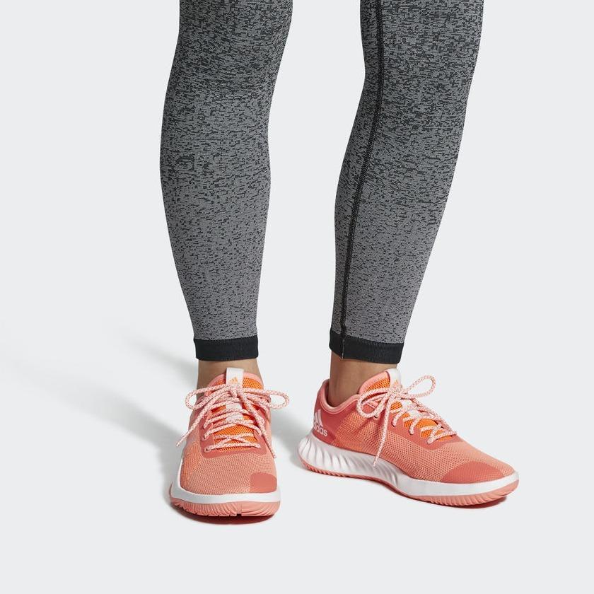 Adidas Crazytrain LT NaranjasBlancasNaranjas CG3499 Mujer Zapatillas