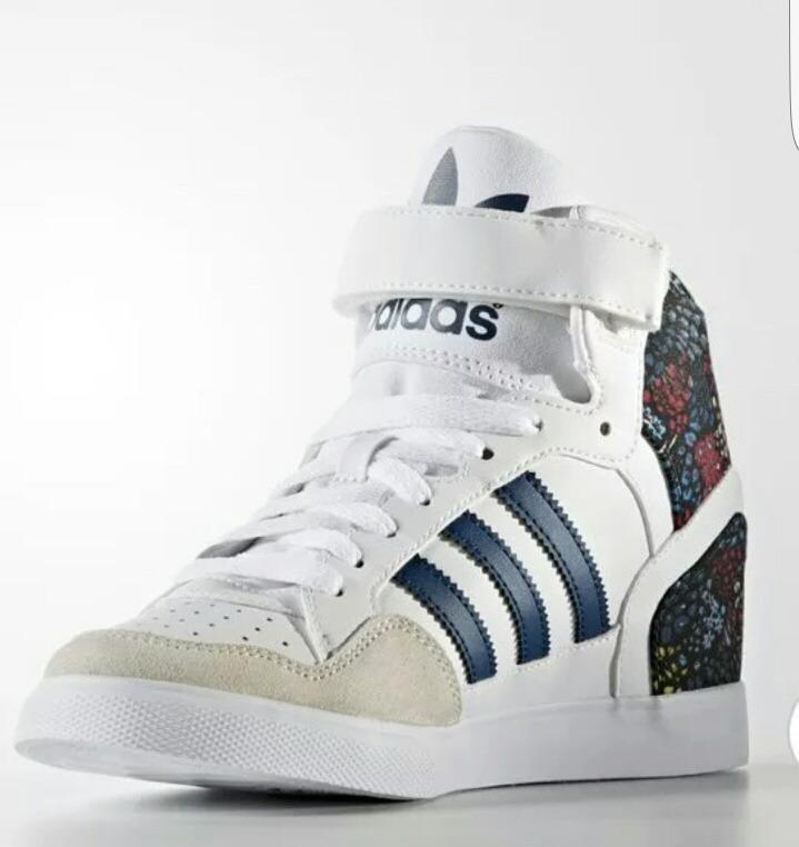3ca6446620204 Zapatillas adidas Mujer Extaball Up W Taco Interno -   1.200