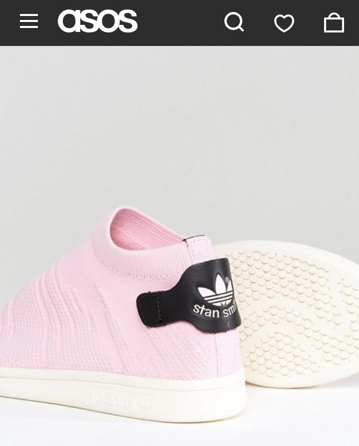 adidas Stan Rosa Smith Primeknit Zapatillas Shock Mujer kXOiPZu