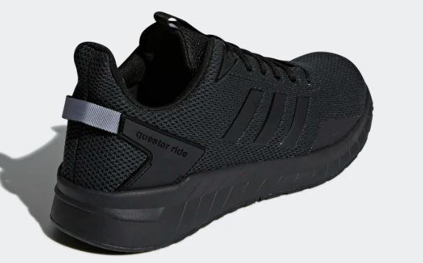 zapatillas adidas negra hombre
