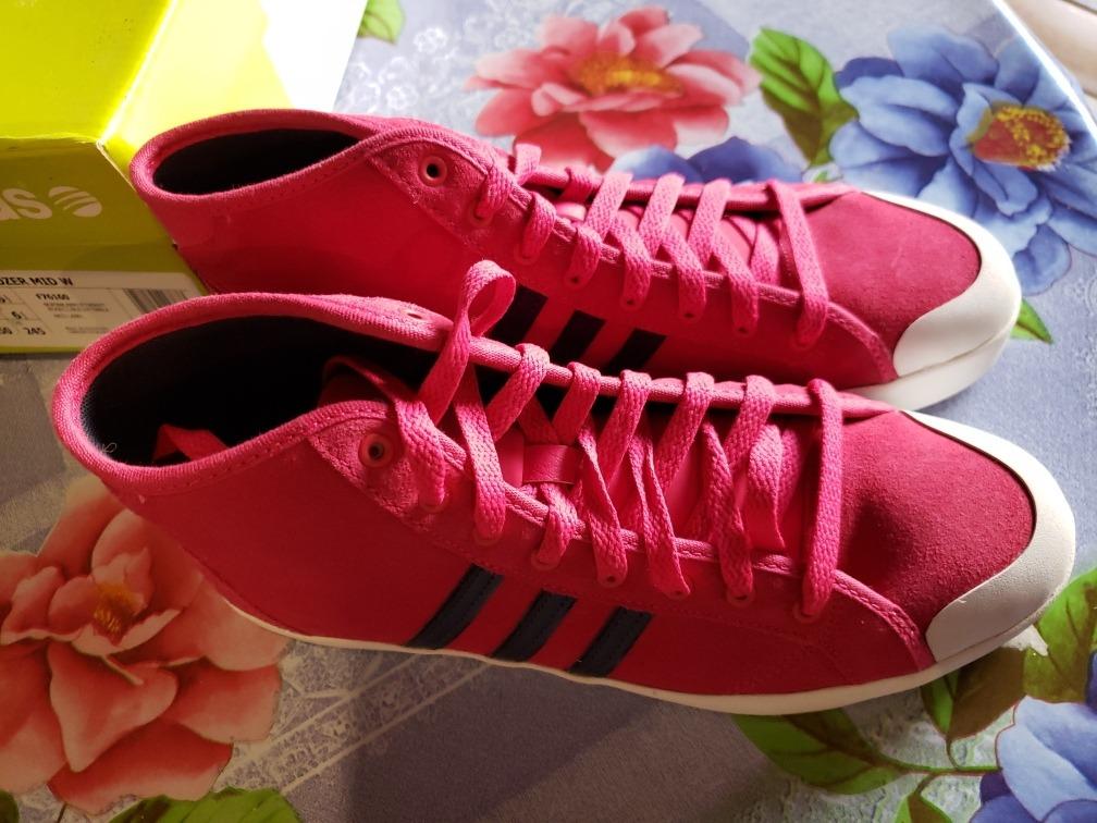 Zapatillas adidas Neo Bbhozer Mid W Botas Fucsia Rosado