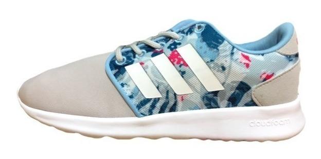 Zapatillas adidas Neo Cf Qt Racer W Mujer Floreada