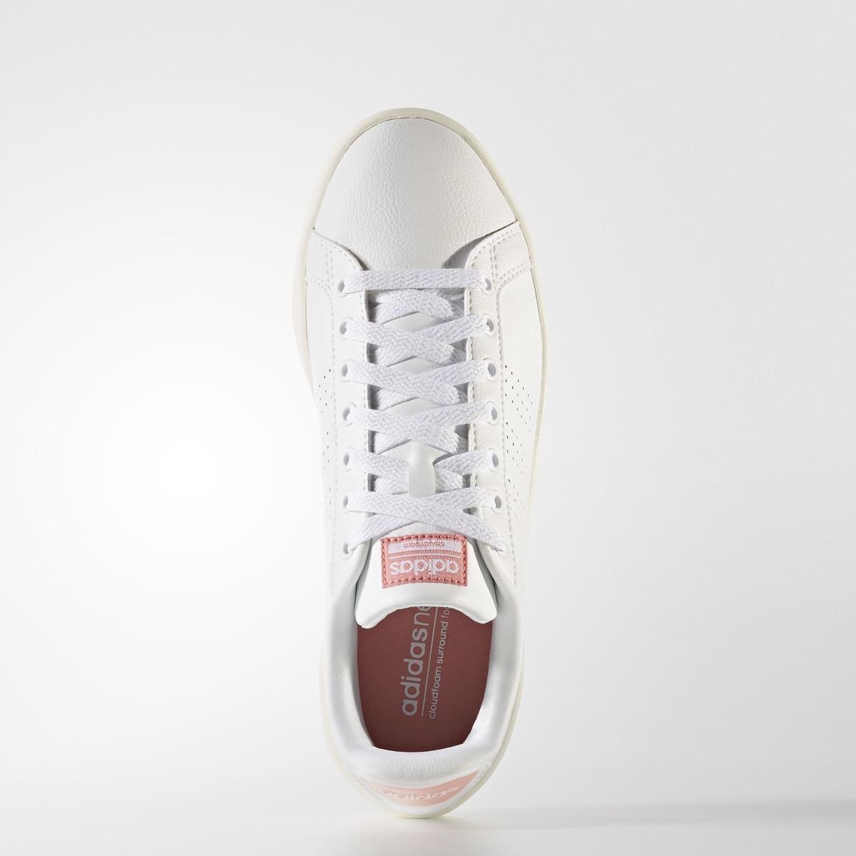 Zapatillas adidas Neo Cloudfoam Advantage Mujer Blanco