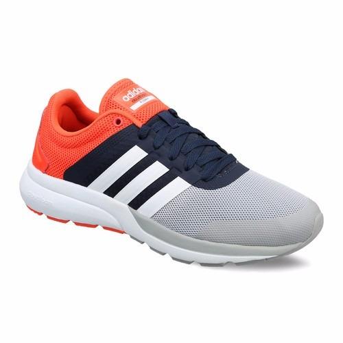 zapatillas adidas grises con naranja