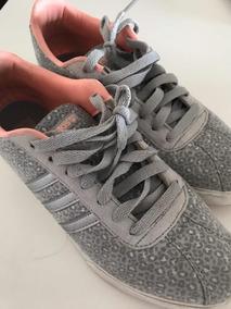 adidas neo mujer gris