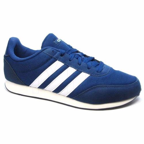 zapatillas adidas neo v racer 2.0 para mujer azul ndpm