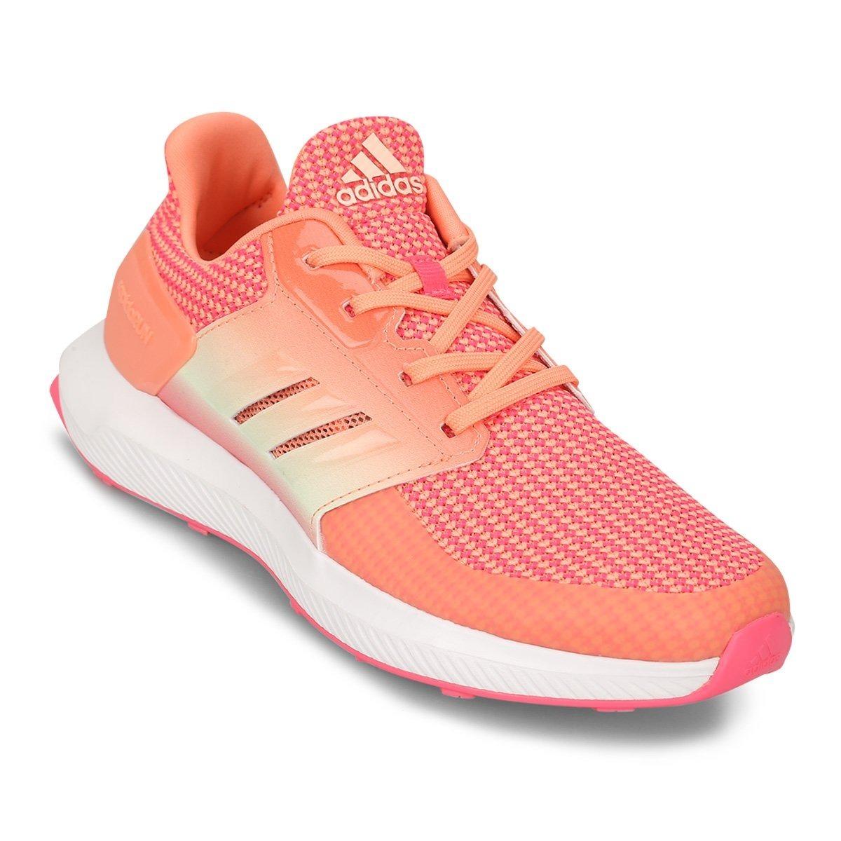 ff3c6843e zapatillas adidas niña - rapidarun - comodas - naranjas. Cargando zoom.