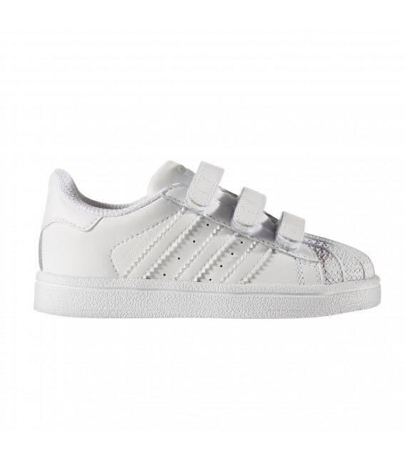 30126602a zapatillas adidas superstar abrojo bebe niño chicos original · zapatillas  adidas niño