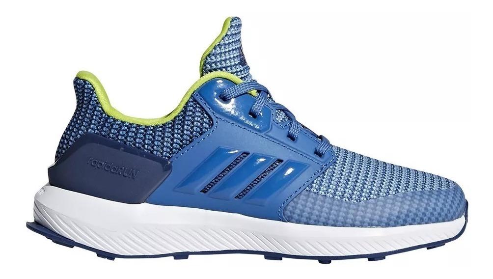 0bdcbeecd57 Zapatillas adidas Niño Running Rapidarun K - $ 2.399,00 en Mercado Libre