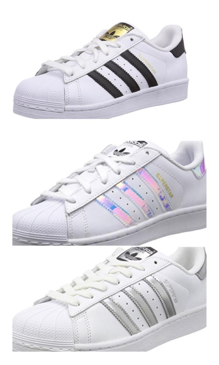 907c17623 Características. Marca Adidas  Línea Superstar Original Unisex  Modelo  Superstar Unisex Niños  Género Niños  Estilo Urbano  Material del calzado  ...