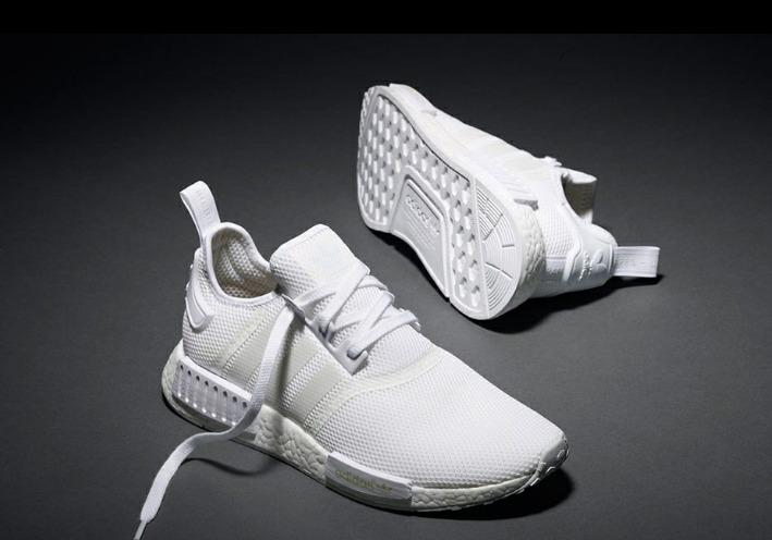 0fb7ead025e Zapatillas adidas Nmd Boost Blancas- Entrega En 24 Hs. -   2.100