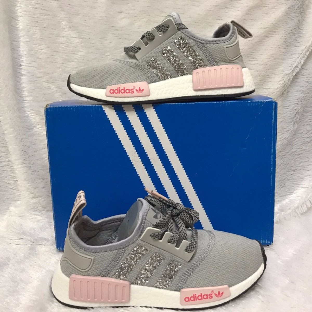 adidas nmd mujer rosas y grises