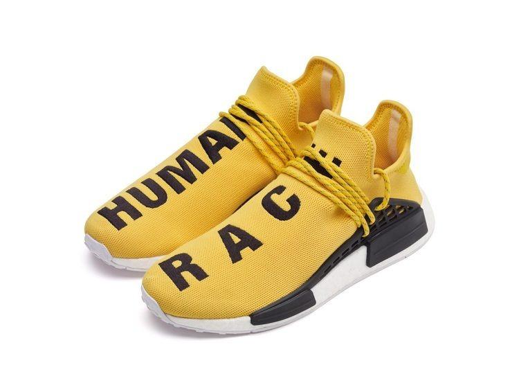 pretty nice ba981 9e7b1 Zapatillas adidas Nmd Human Race Amarillo Pharrell 2017 - S  449,90 en  Mercado Libre