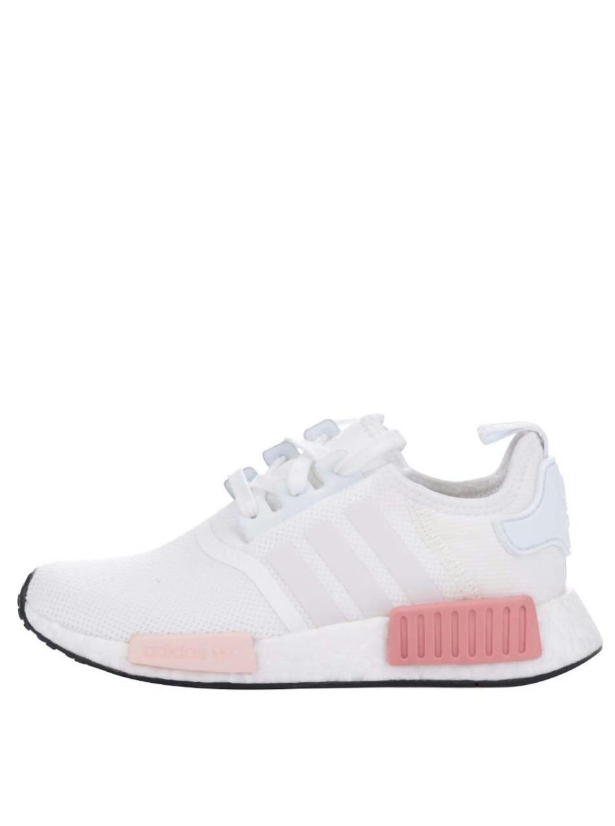 reputable site fd5b5 0de1c zapatillas adidas nmd mujer blancas y rosas. Cargando zoom.