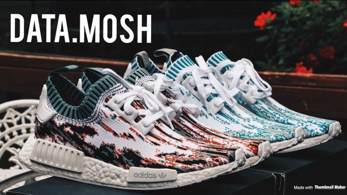 buy popular 7d421 5fa09 Zapatillas adidas Nmd R1 Datamosh Gucci Glitch / Modelo 2017