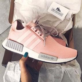 adidas nmd r1 mujer gris y rosa