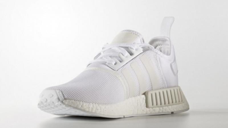 9b390b7efe5 zapatillas adidas nmd r1 triple white blanco unisex. Cargando zoom.