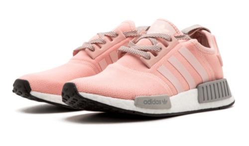 sale retailer a0e60 68d55 ... sweden zapatillas adidas nmd r1 vapor rosado onyx mujer 051b1 1674b