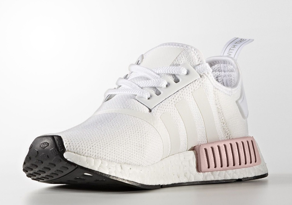 1a76f47113a zapatillas adidas nmd r1 w blanco rosa mujer    modelo 2017. Cargando zoom.