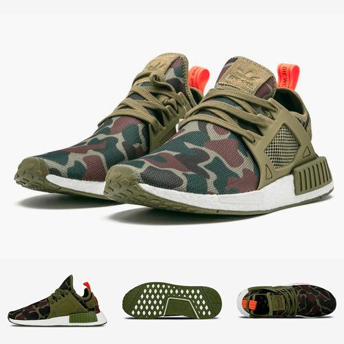 zapatillas adidas nmd xr1 | duck camo olive 2017 original