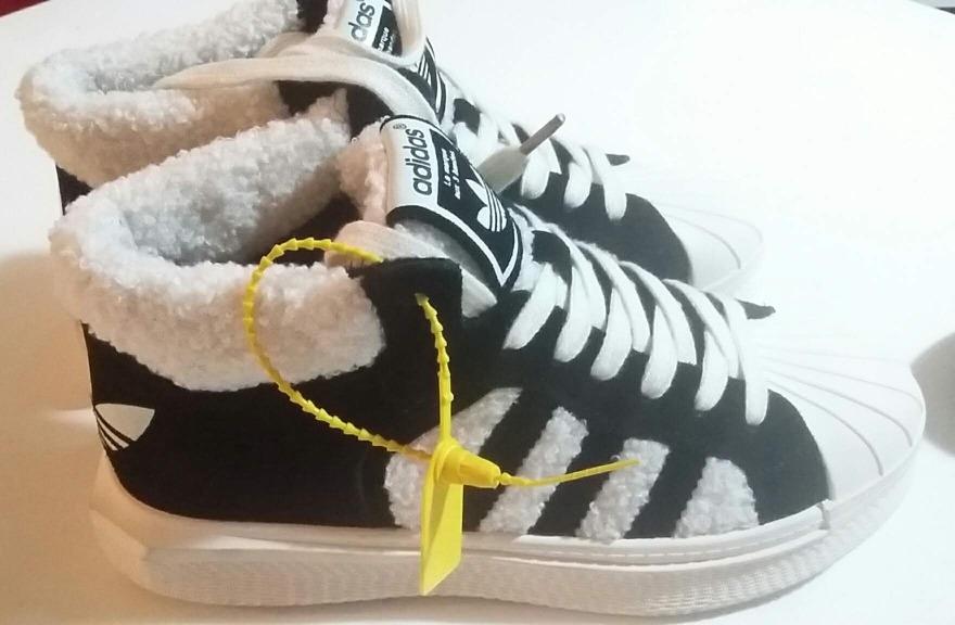 zapatillas adidas piel