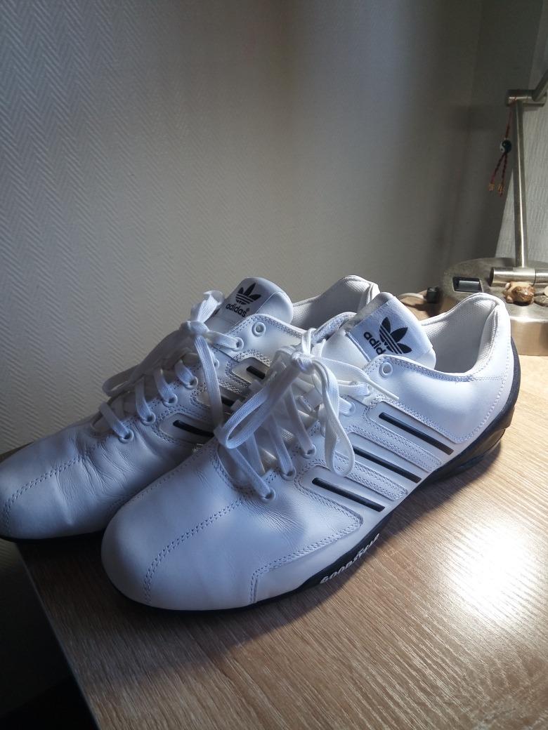 zapatillas adidas orginals good year blancas de cuero nuevas. Cargando zoom. fd8860b1984