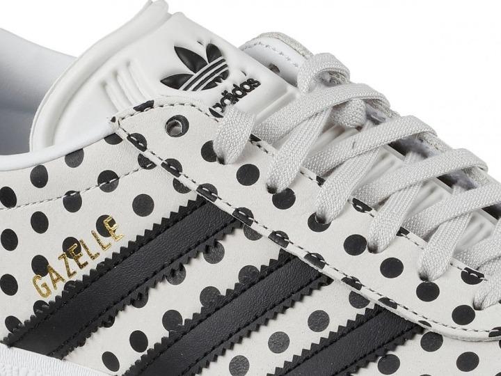 Zapatillas adidas Originales Gazelle Lunares Blanconegro