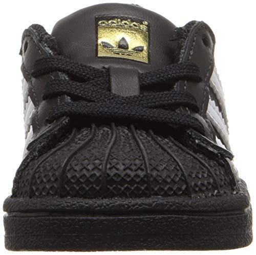 best service e3281 46c43 zapatillas adidas originals baby superstar, negro blanco