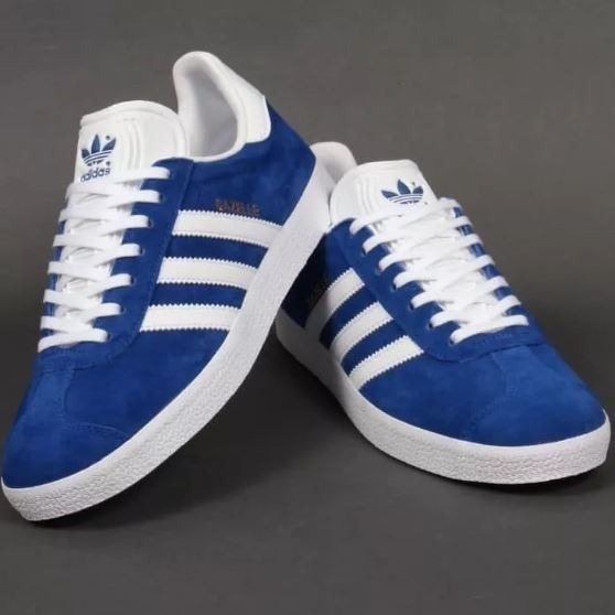 adidas gazelle azules hombre
