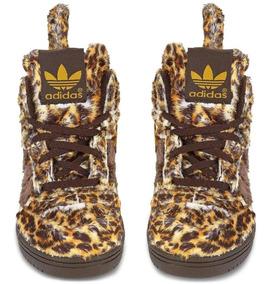 Scott Adidas Zapatillas Niños Jeremy Leopard Originals wTPZOukiX