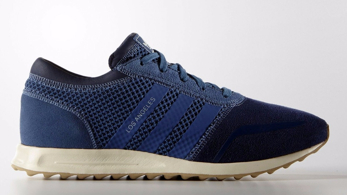 Custodio Vibrar A pie  Zapatillas adidas Originals Los Angeles Navy/blue Importadas ...