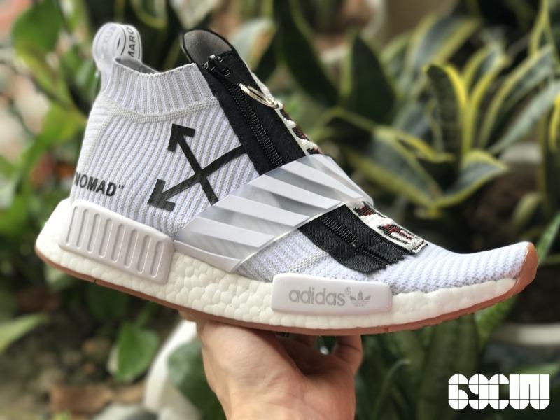 X Originals Off Nmd Zapatillas 00 Sock City White Adidas 3 990 XTRnBP