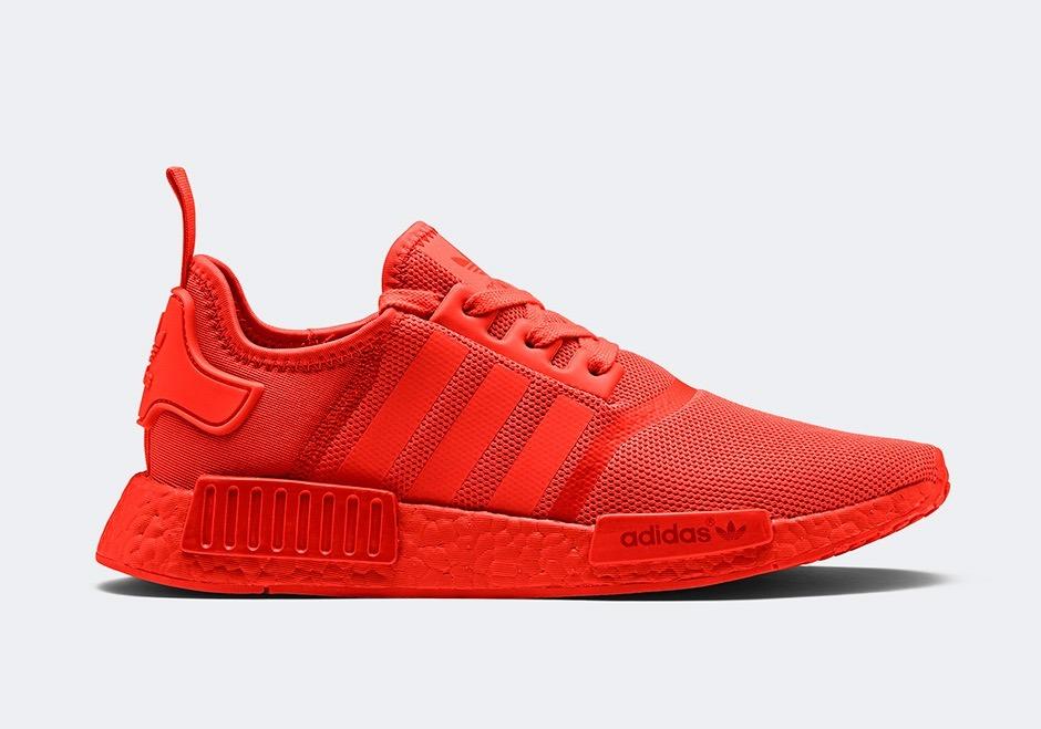 zapatillas adidas rojas 2017