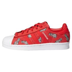 zapatillas de mujer adidas rojas