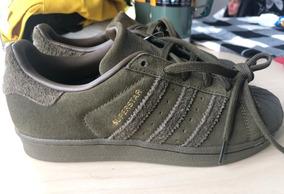 zapatillas adidas hombre verde militar