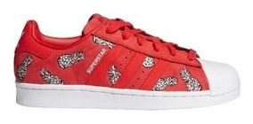 Zapatillas adidas Originals Superstar W Roj/piñ/blc De Mujer