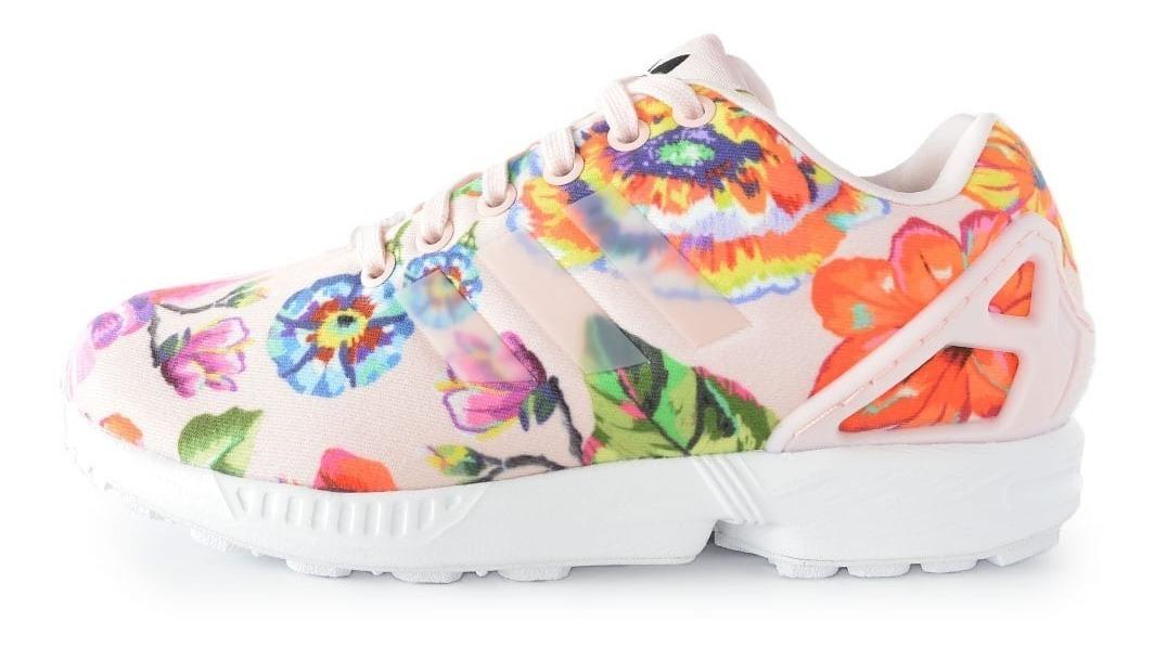 Zapatillas Adidas Zx Flux Mujer Modelo Exclusivo 2019 Rosa