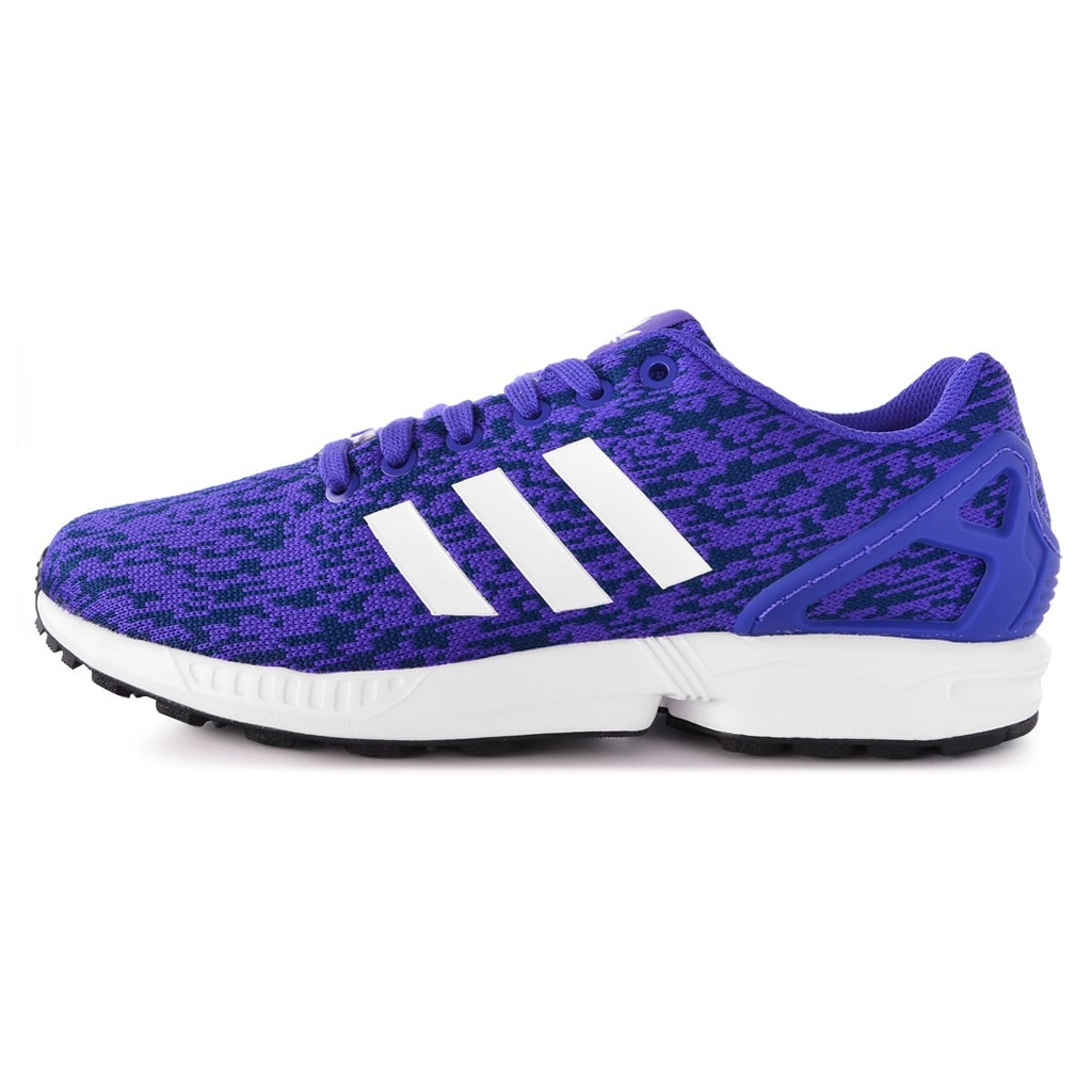 check-out 5d1c6 194cd Zapatillas adidas Originals Zx Flux Violeta Hombre