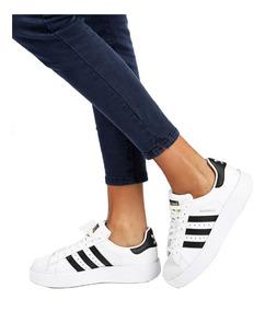 zapatillas plataforma mujer adidas