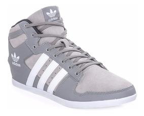 zapatillas adidas hombres grises
