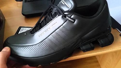zapatillas adidas porsche bounce negra dorada roja