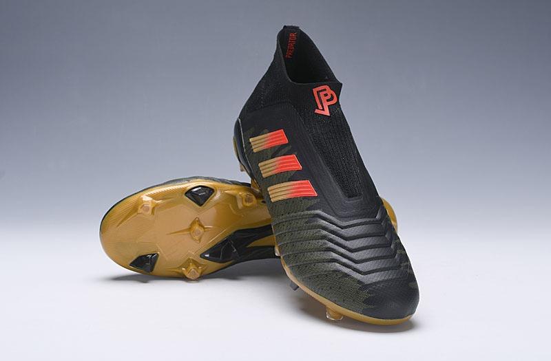 zapatillas adidas predator 18+x pogba negro y dorado 39-45. Cargando zoom. c25877d65728f