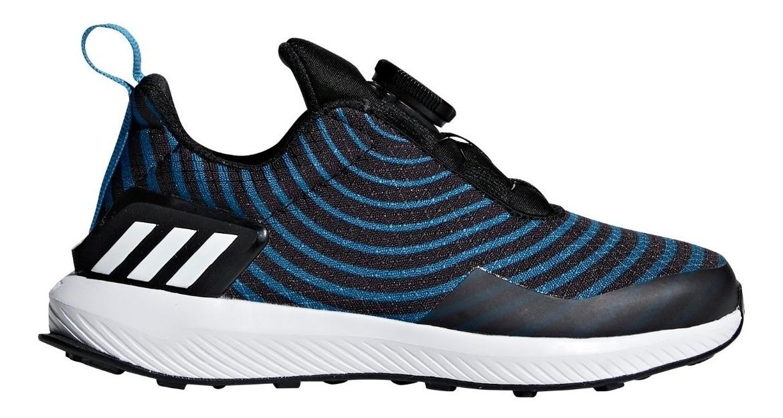 b92dd263 zapatillas adidas rapidarun uncaged boa neg-azul de niños. Cargando zoom.