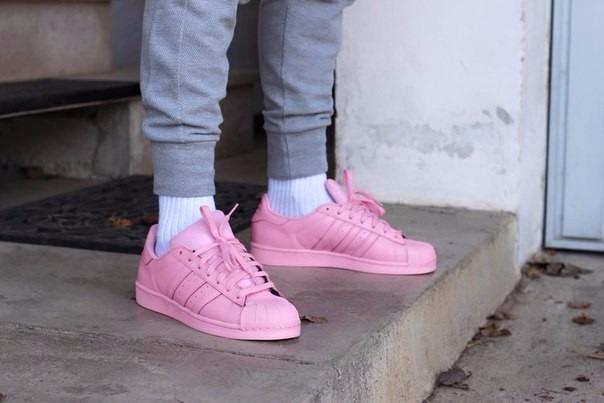 2be5883f2f Zapatillas adidas Rosada Pink Superstar Supercolor En Stock - S/ 269,00 en  Mercado Libre